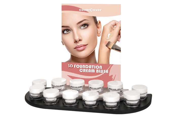 Espositore per 3D Foundation e Cream Blush